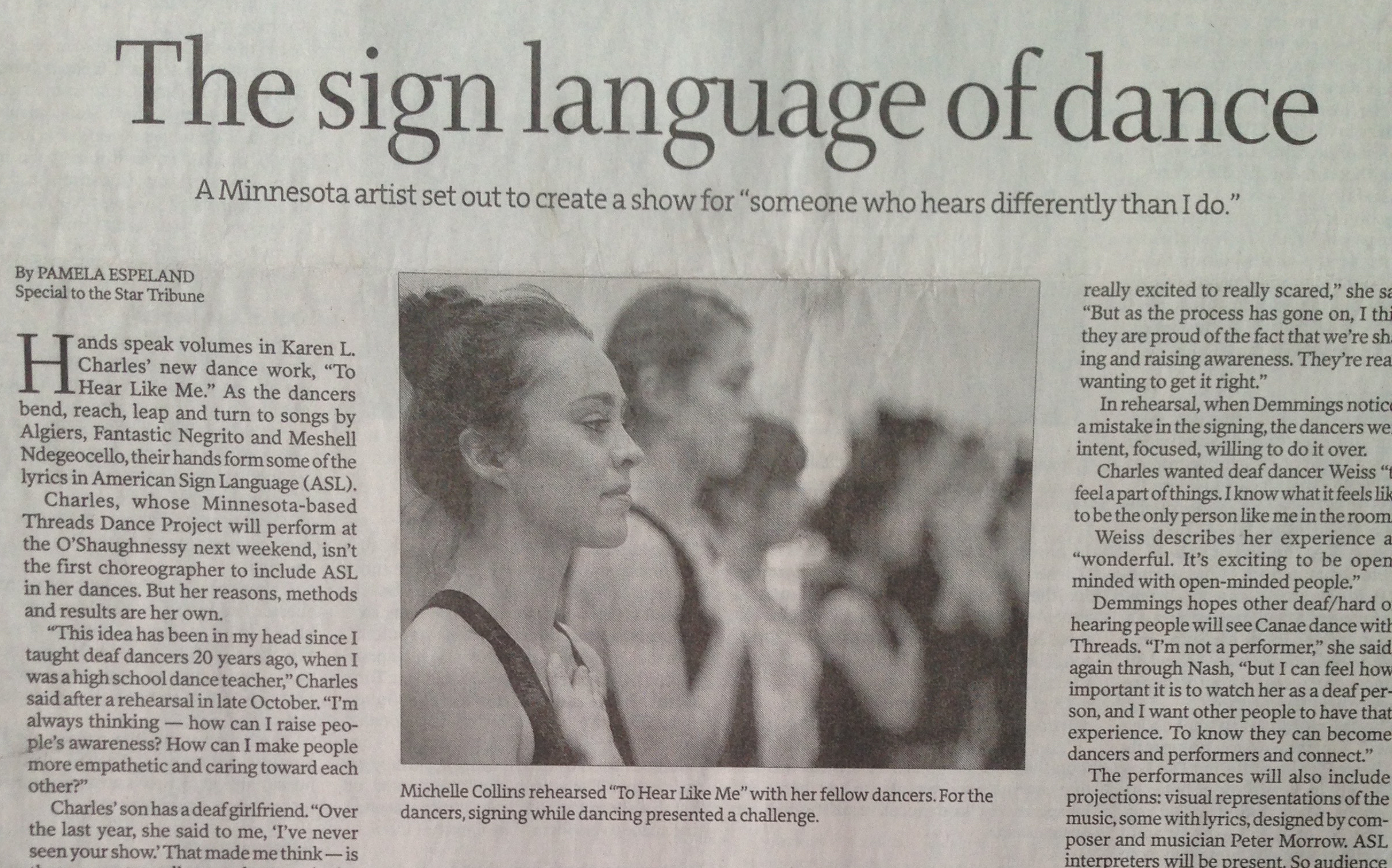 image of Strib article